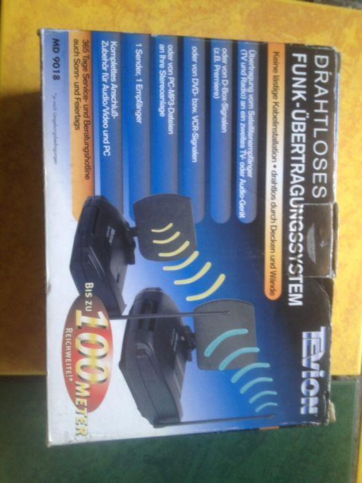 Transmiter/receiver audio video