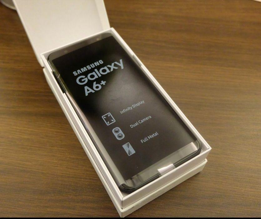Samsung A6/novo na caixa.