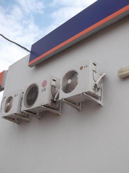 montagem e manutenção de ar condicionado no banco Keve