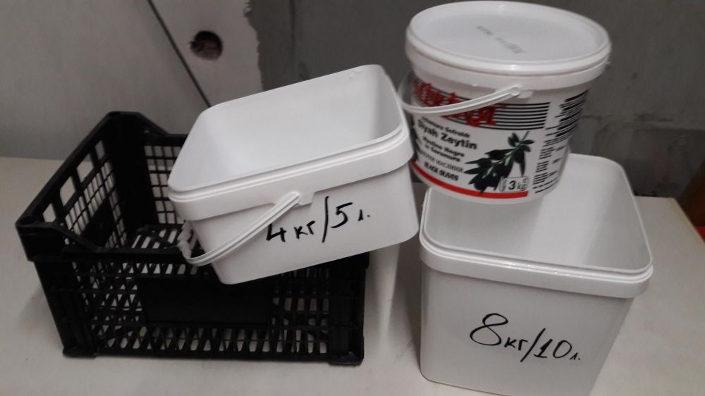 Продавам: пластмасови каси/щайги/касетки от зеленчуци/кофи от сирене