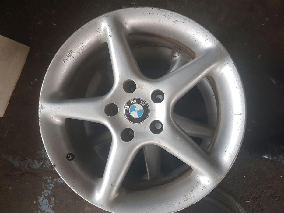 Jante BMW 17 si 15 tabla cu anvelope iarna 195.65.15