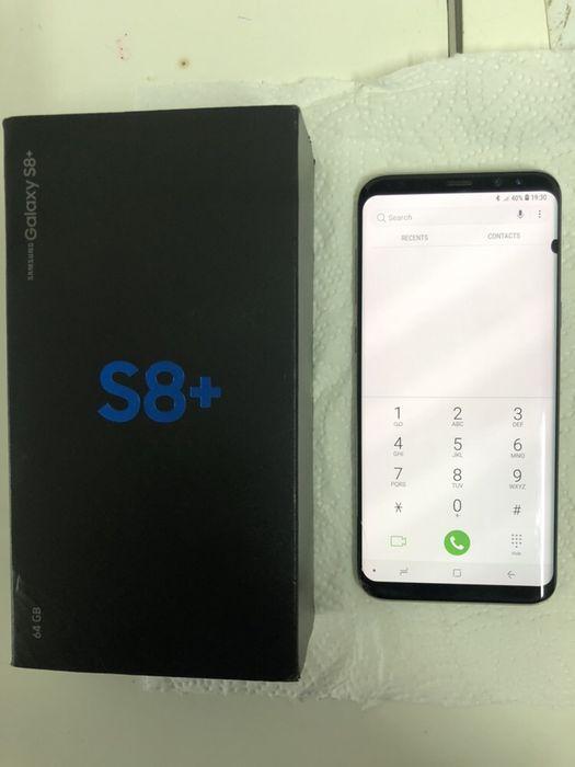 Samsung galaxy S8 plus com caixa e acessórios