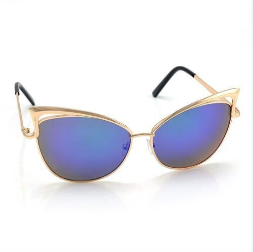 Ochelari Soare Dama Gen TOM FORD Cat Eye - Rama Metalica - Model 6