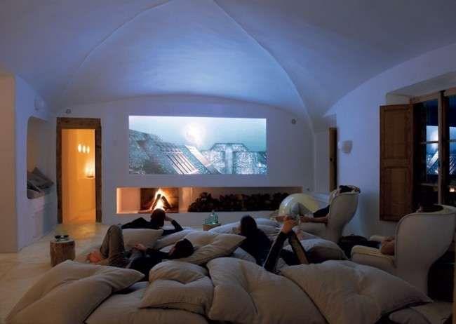 Montamos Sala de Cinema em Casa