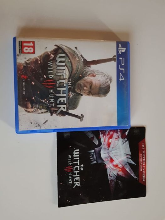 The Witcher Jogo Ps4