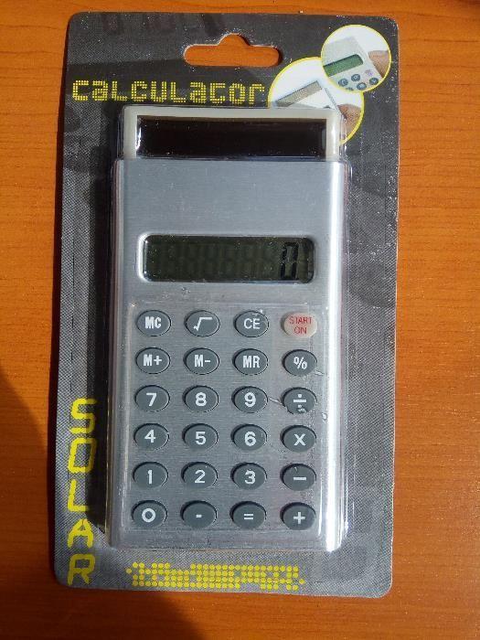 Calculator solar de buzunar/birou