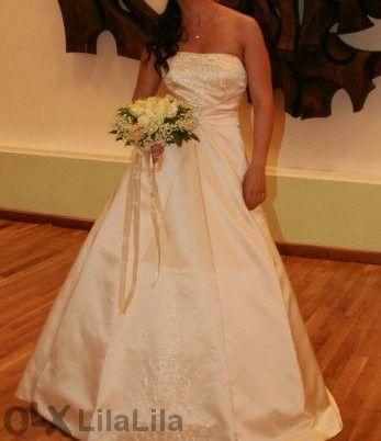 Сватбена рокля с болеро