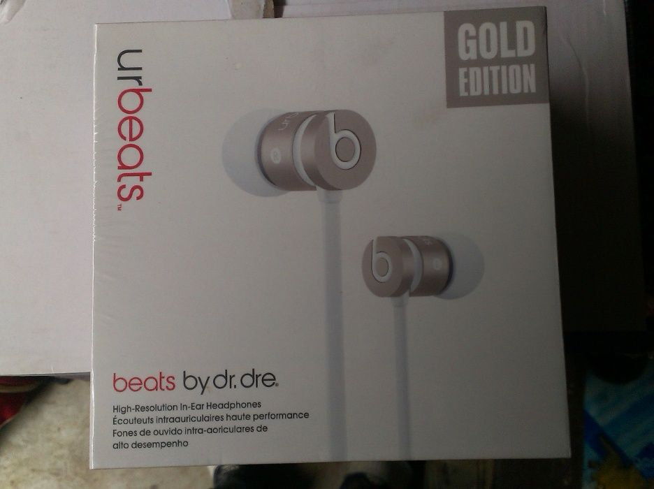 Vendo auricular intra auditivo Urbeat beats by Dr Dre. gold edition