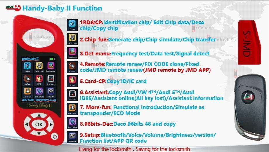 Програматор за ключове Handy Bay 2 - FULL, 96 bit+G гр. Ямбол - image 5