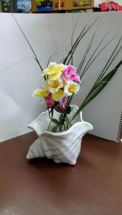 Ваза или декоративна купа с формата на раковина гр. София - image 1