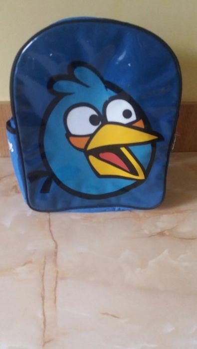Ghiozdan cu Angry Bird!de gradinita