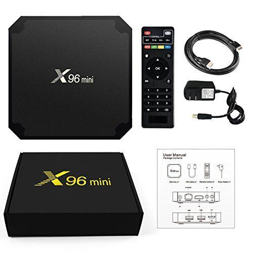 Тв бокс приставка X96 mini!Smart tv box 2/16гб! 100% оригинал!