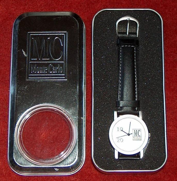 set cadou : ceas, briceag, brichetă şi scrumieră, toate Monte Carlo