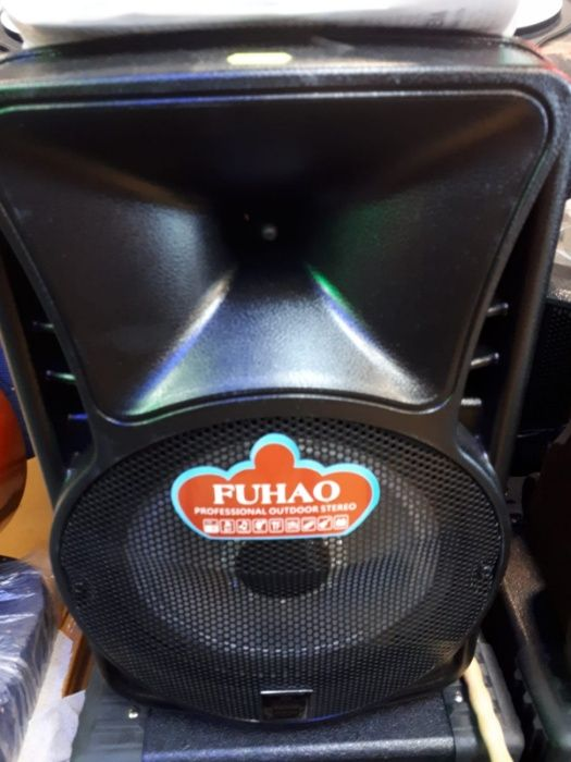 Boxa portabila FUHAO , cu bluetooth , usb , SD card ,