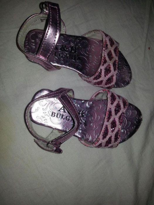 НОВИ Бебешки сандали 14мм