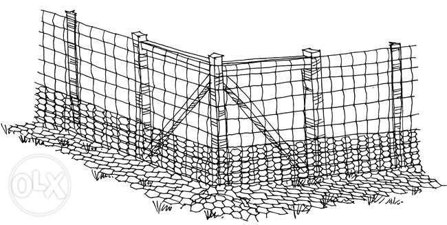 Plasa gard, stalpi si montaj - reducere pana la 10%