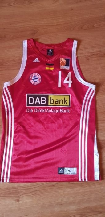 Maieu Basketball Bundesliga Adidas 14 Kolodziejski mărimea XL