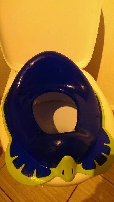 Reductor wc copil NOU, broscuta, agatatoare si margini silicon