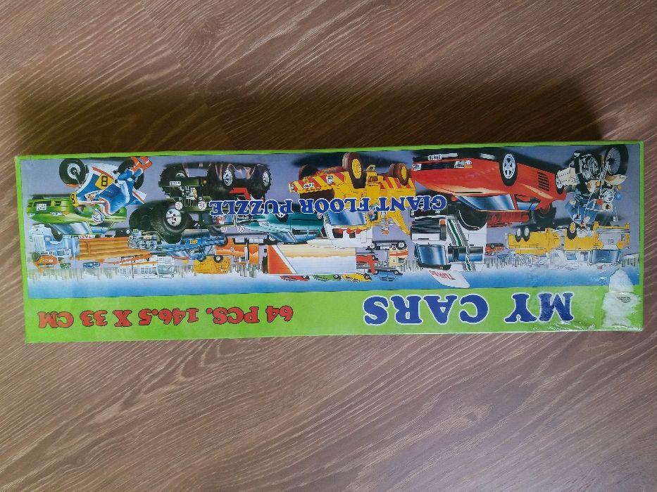 Puzzle gigant My Cars 146,35 × 33cm