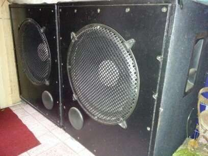 Pair subwoofers Eminence Kilomax pro18A best offer cash sau schimb