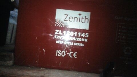 Acumulatori solari 260 ah/12 v,gel