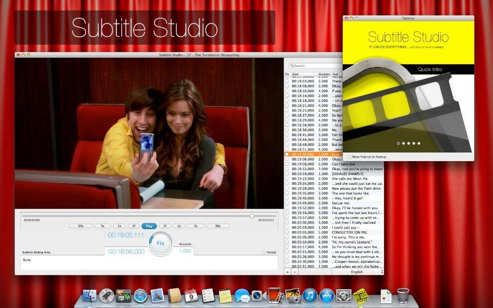 Subtitle Studio para Mac, Macbook, iMac