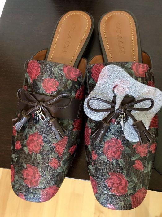 Loafers COACH- cutie - săculeț alb - 400 RON