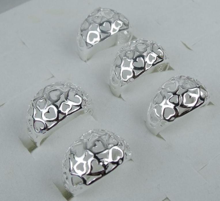 M6,inel argint 925,nou/marcat, masiv, inimioare ,reducere 30%