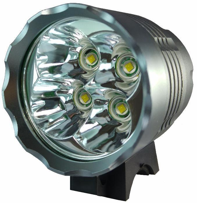 Far lanterna bicicleta 4 LED CREE XM-L T6 la 4500 Lumeni
