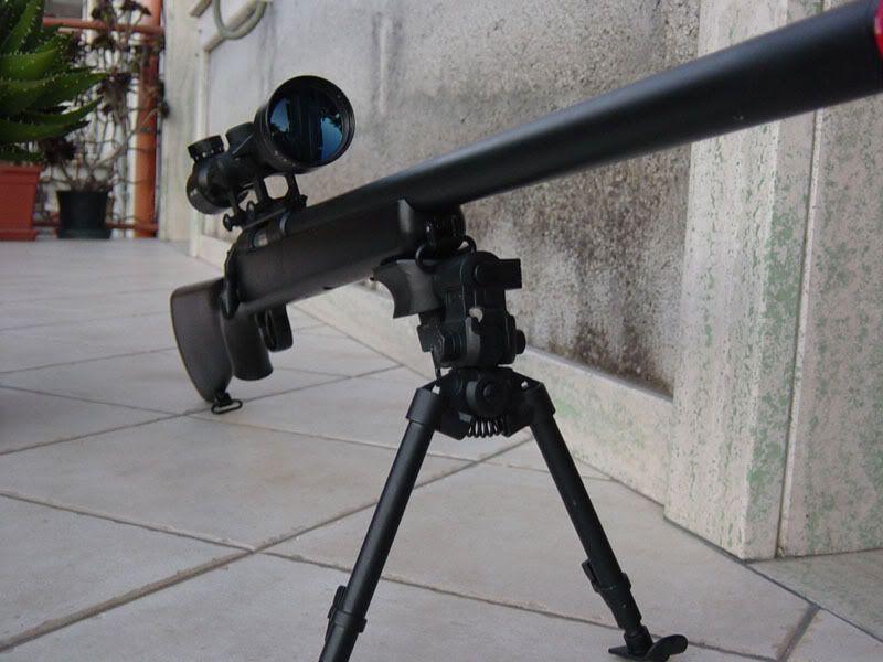 Pusca MANUALA Sniper (Ultra Puternica!! Airsoft)cu aer comprimatco2ARC
