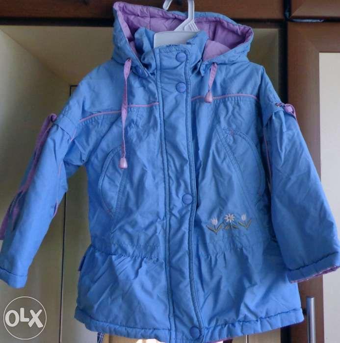 Весенняя куртка на девочку 3 года