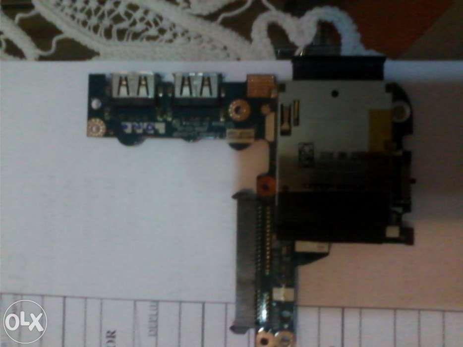 Placa IO - USB, SATA-HDD, SD-MemoryCard - Netbook Acer