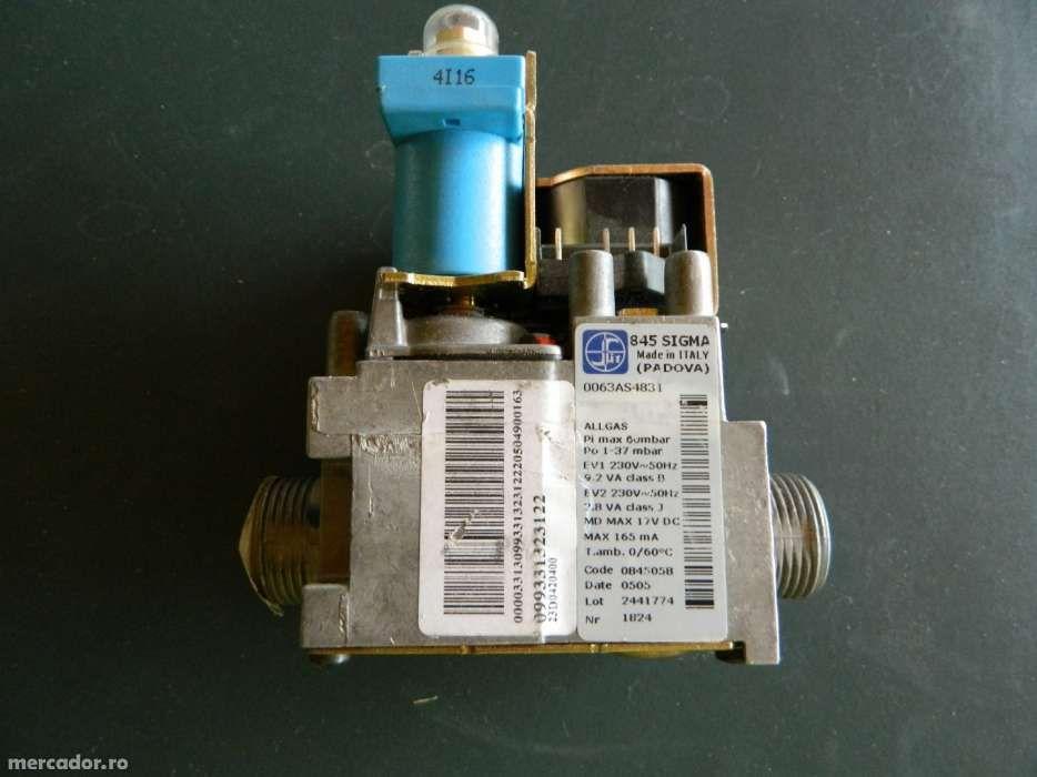 vana gaz centrale termice 845 Sigma, noua