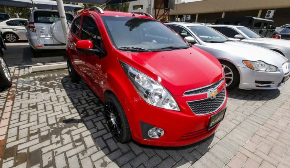 Chevrolet spark a venda