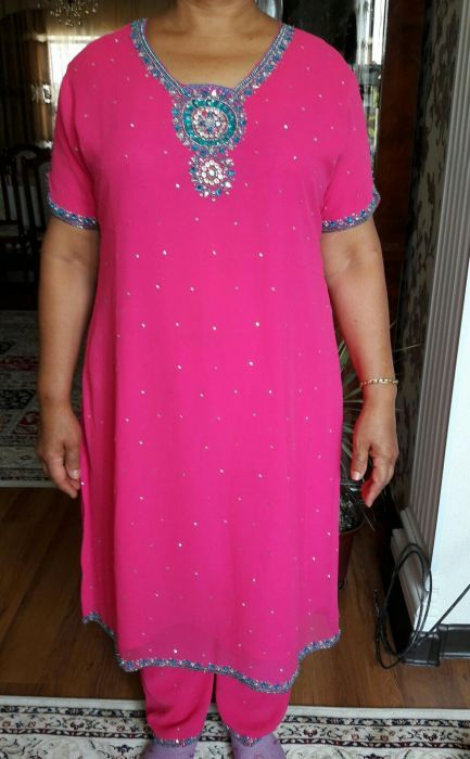 Сальвар-камиз Индийский костюм, платье