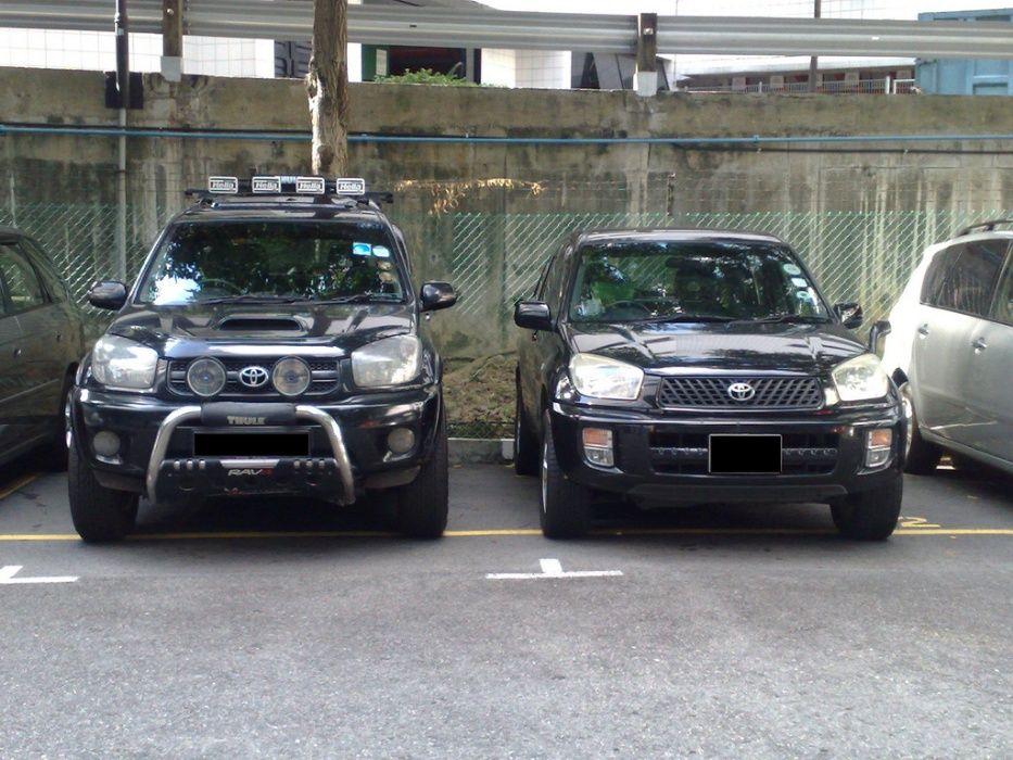 Inaltare Suspensie +5cm Toyota RAV4 2000-2005