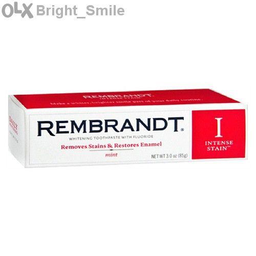 Rembrandt - за пушачи -Паста за зъби избелваща -Intense- Рембранд -САЩ