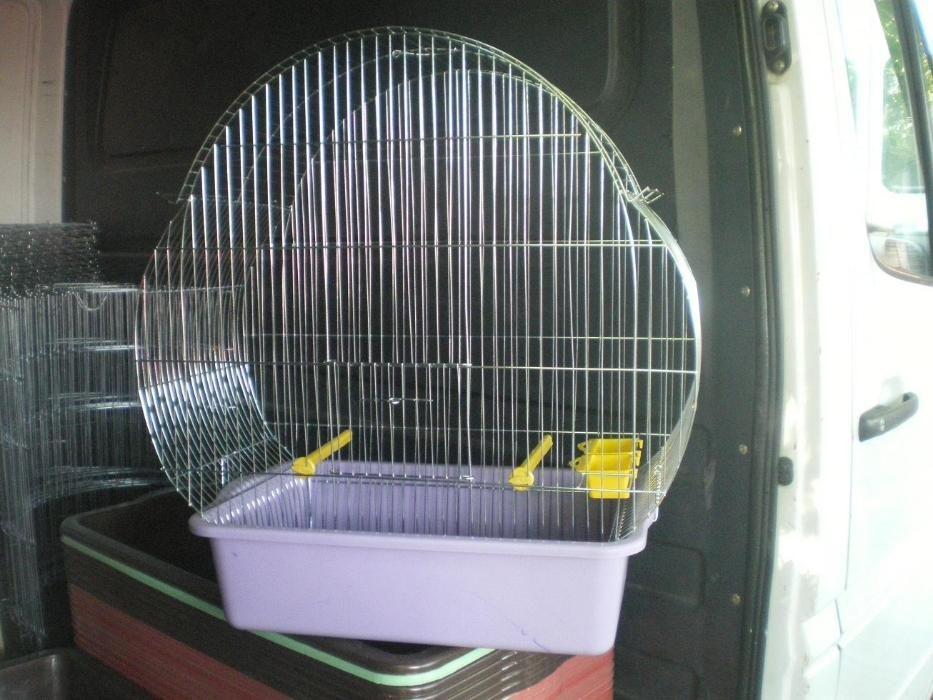 Клетка за големи папагали Много голяма XXL с объл покрив- големи птиц