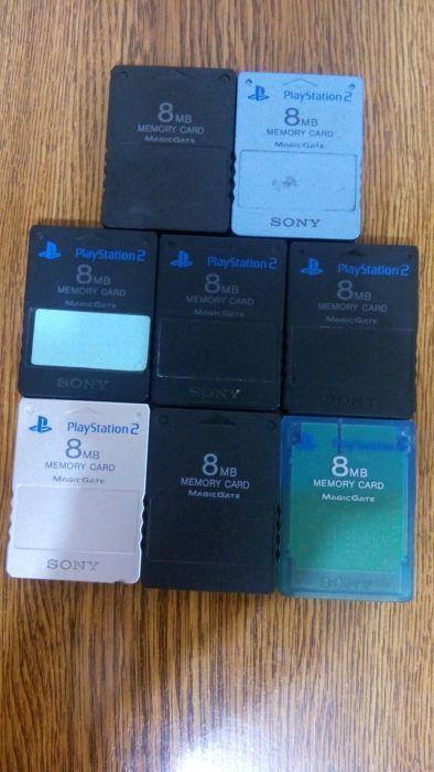 Card memorie, memory card SONY 8 MB MODAT pentru PS 2 Playstation 2