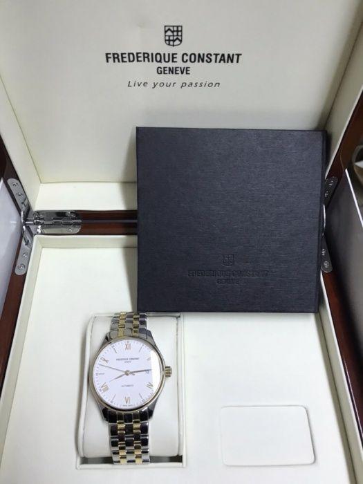 Мъжки часовник Frederique Constant White Dial Two-tone Automatic