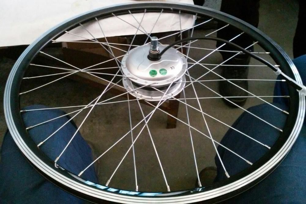 Електрическа капла за велосипед КИТ електрически двигател велосипед