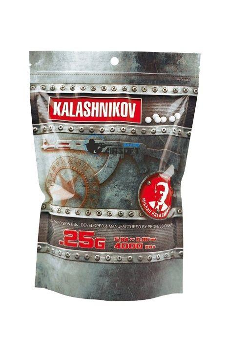 Bile airsoft 6mm 0,25g Kalashnikov