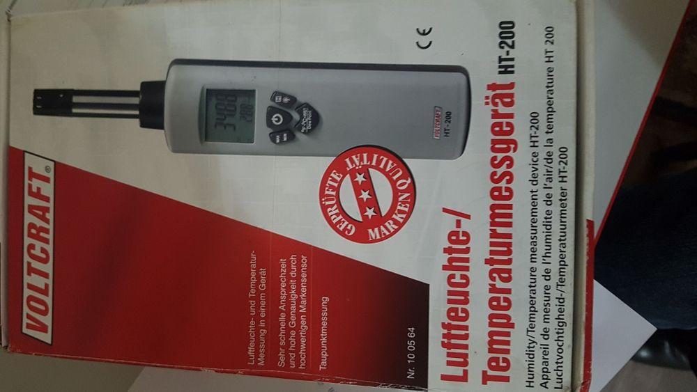 Продам прибор для измерения температуры и влажности воздуха