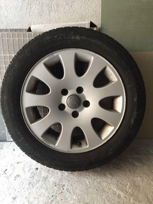 алуминиеви джанти Ауди 16 Цола с гуми стар dot
