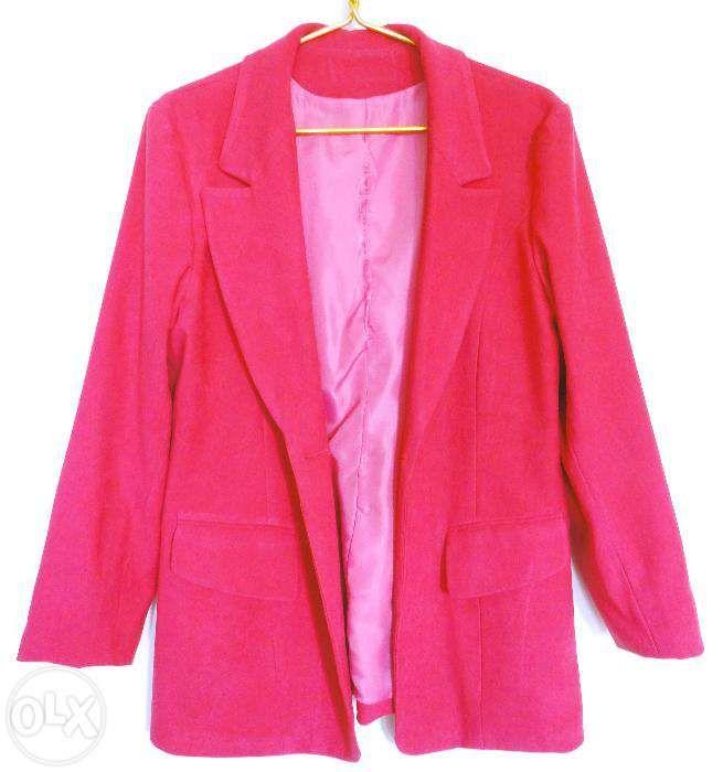 Пиджак жакет ярко розовый (новый)