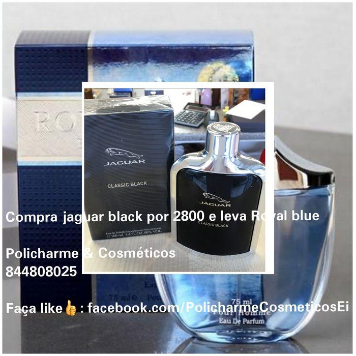 Paga jaguar black e leva royal blue