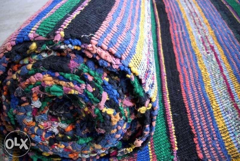 Черга ръчно тъкана старовремска