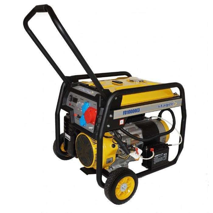 Generator open frame Stager FD10000E3,400V,Putere 8kW,Pornire Electica