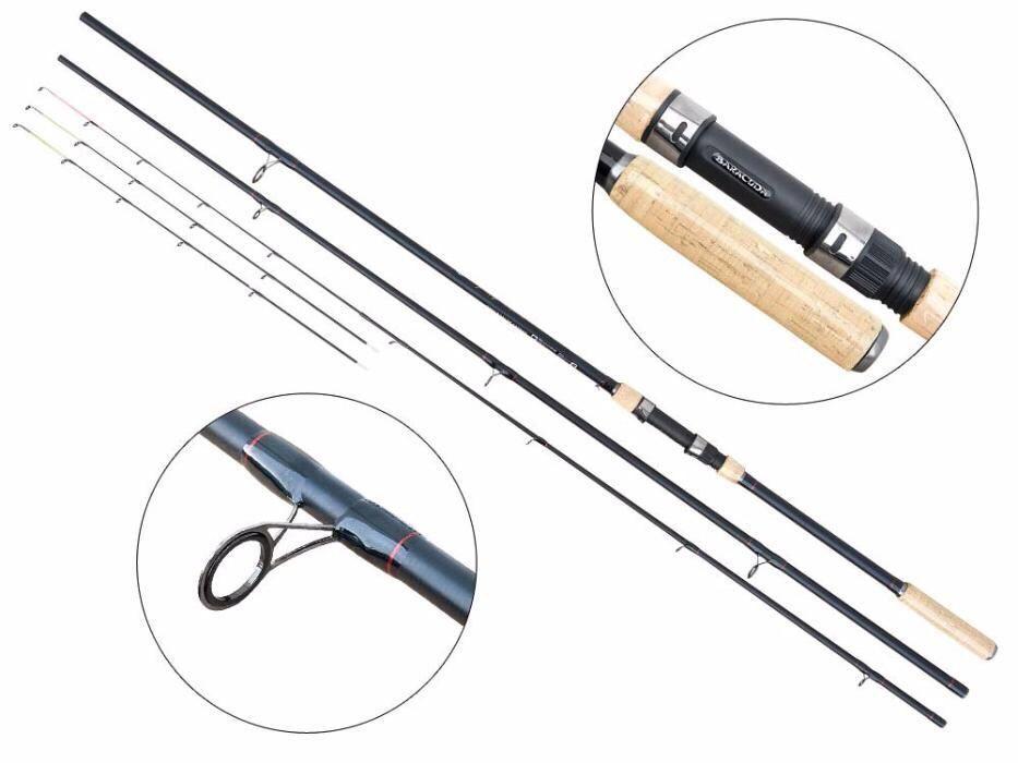 Lanseta Baracuda pescuit la feeder Stream Feeder 390 A:< 160g