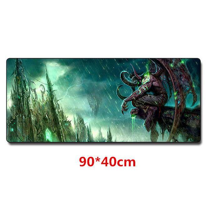 XXL Геймърски пад World of Warcraft подложка за мишка Уаркрафт 90х40см
